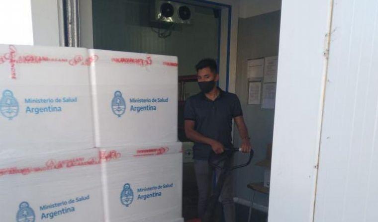 Córdoba recibió una nueva partida de vacunas: 31.800 dosis, cifra menor a la que debiera recibir