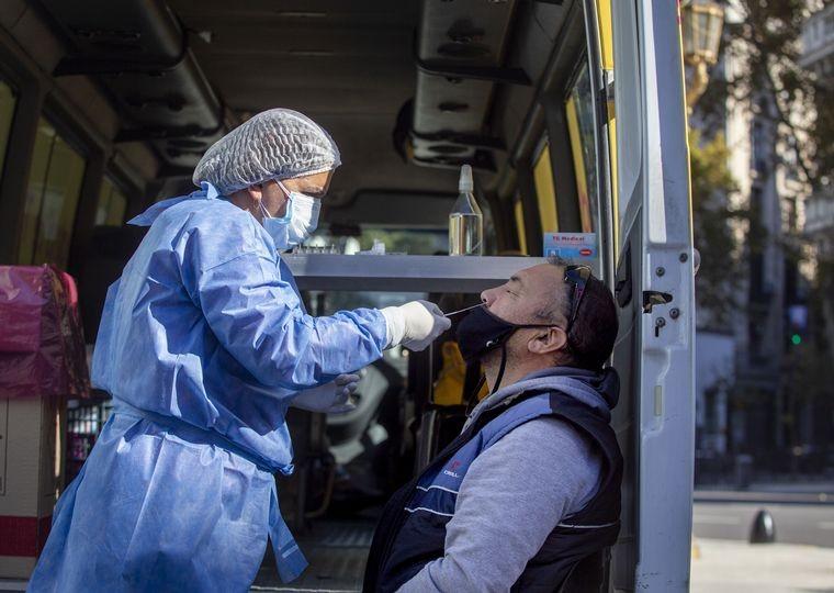 Coronavirus en Argentina: 648 muertes y 25.878 nuevos casos