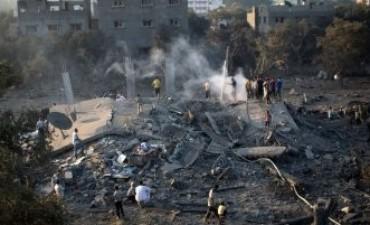Crece la tensión en Gaza: Israel atacó la franja en respuesta a los cohetes palestinos