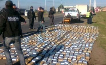 Secuestraron mas de 300 kilos de marihuana en Santa Fe