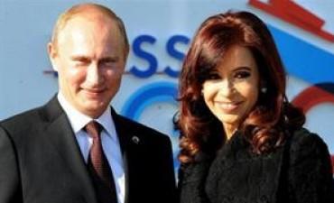 Cristina Kirchner cenará con Vladimir Putin, Evo Morales, Nicolás Maduro y Pepe Mujica