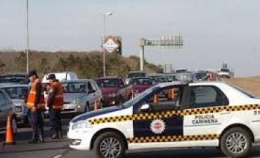 Suben las multas de la Policía Caminera