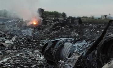 Derribaron un avión de Malaysia Airlines
