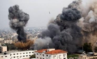 Israel destruyó oficinas de TV Al Jazira y de la agencia AP