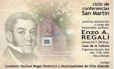 San Martín en Villa Allende