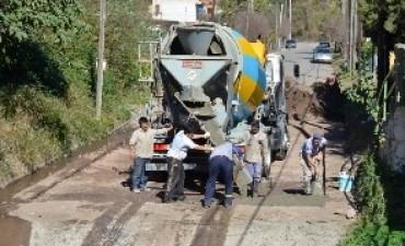 Reconstrucción de vados en dos barrios de la ciudad