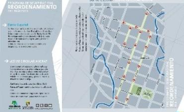 ATENCIÓN. Cambia el sentido de circulación en calles de barrio Español