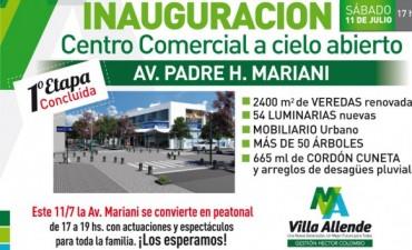 Primera etapa del Centro Comercial a Cielo Abierto Padre Mariani
