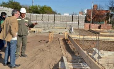 Comenzó la construcción de las 80 viviendas para los damnificados por la inundación