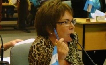 Olga Riutort no incluyó al Frente Cívico