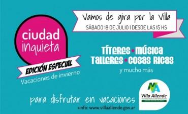 Ciudad Inquieta, edición especial vacaciones de invierno