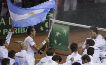 Argentina barrió a Serbia y avanzó a la semi de la Davis