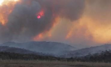 Sofocan incendio en zona de Estancia Vieja