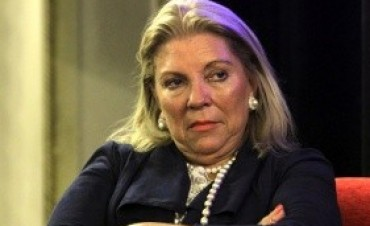 Cristina puede terminar en la cárcel. Elisa Carrió