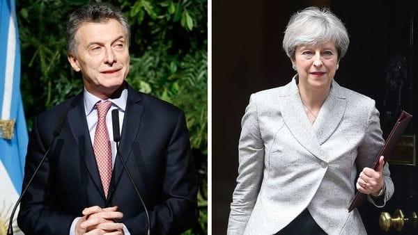 Macri se reunirá con Theresa May en la cumbre del G20