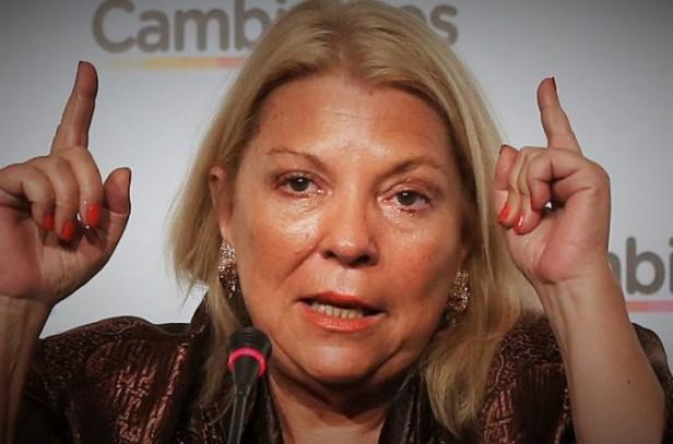 Elisa Carrió criticó la creación de la Dirección Nacional de Bicicletas