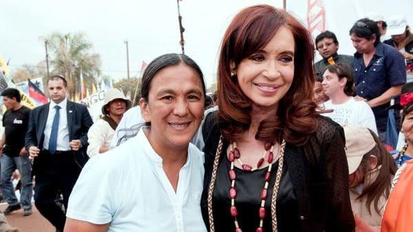 Cristina Kirchner llamó a Milagro Sala a la cárcel