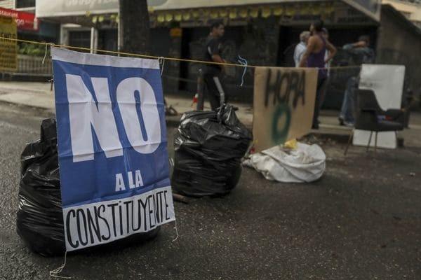Los venezolanos inician la huelga de 48 horas contra la dictadura de Nicolás Maduro