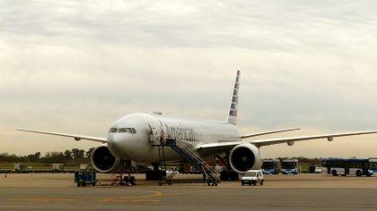Una falla en su avión obligó a Christine Lagarde a volver a Buenos Aires