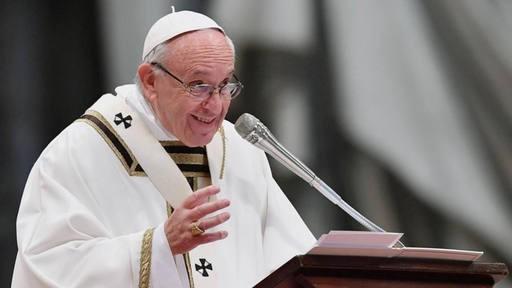 Francisco dijo que le gustaría visitar Argentina en 2020
