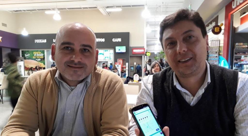 "La primera ""app"" de viajes compartidos de Córdoba ya se usa en Sierras Chicas 2"
