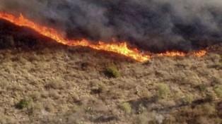 Emiten alerta por peligro de incendios forestales en Córdoba