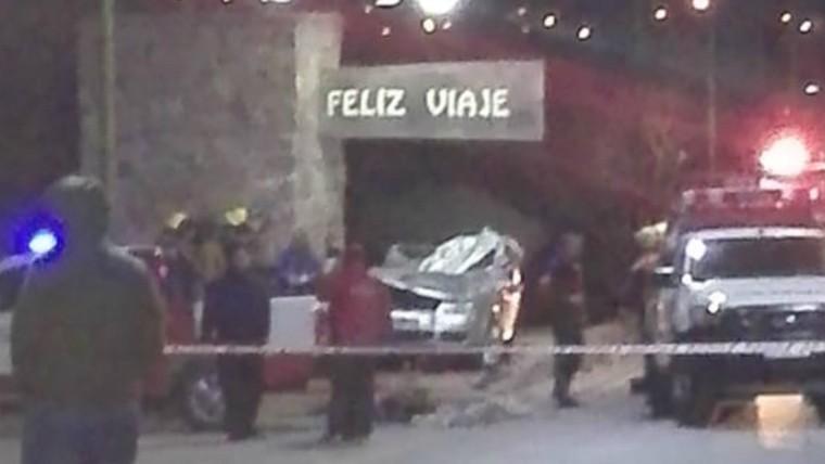 Tres muertos en un choque fatal en Villa Cura Brochero