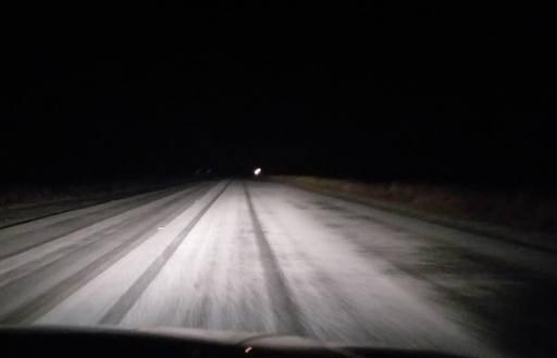 Se encuentra cerrado el Camino de las Altas Cumbres por las bajas temperaturas