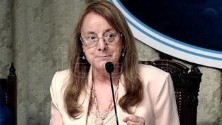 Alicia Kirchner no podrá pegar su boleta a la de la fórmula presidencial Fernández-Fernández