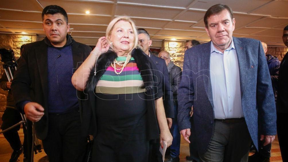 Carrió respaldó la candidatura a intendente de Montenegro