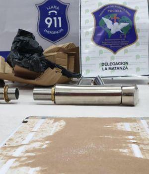 Encuentran cocaína oculta en canillas con destino a Nueva Zelanda