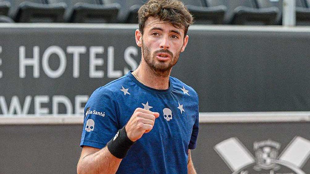 Londero venció a Garín y avanzó a segunda ronda en México