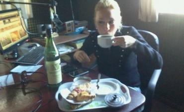 Un desayuno de radio..! con mucho sabor y Calor