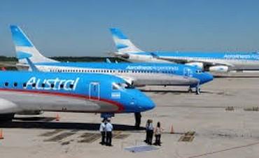 Una protesta de pilotos complica los vuelos de Aerolíneas y de Austral en todo el país