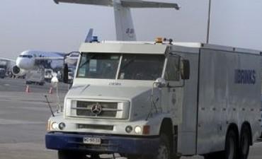 Robaron más de 7 millones de dólares en aeropuerto de Chile