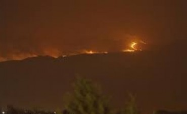 Córdoba emitió una alerta máxima por riesgo de incendios