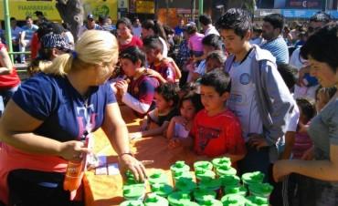 Miles de niños celebraron en el Poli
