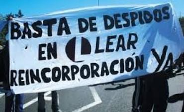 Autopartista Lear vuelve a producir en medio de un fuerte operativo policial