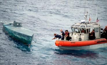 EEUU confiscó un narcosubmarino con el mayor cargamento de cocaína de la historia