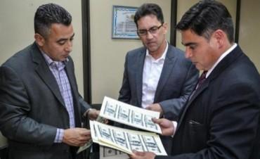 Sospechan que los dólares falsos iban a países vecinos
