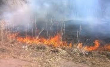 Incendios en distintos lugares de la provincia de Córdoba