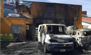 Un explosión conmocionó Alto Alberdi