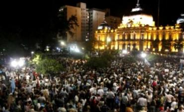 Séptimo día de protesta por presunto fraude en Tucumán