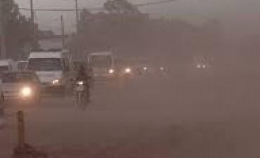Alerta por vientos fuertes con ráfagas en Córdoba