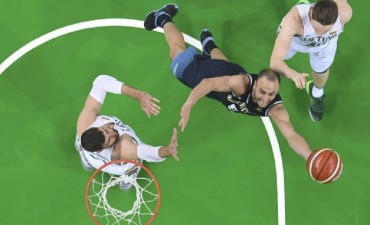 Basquet: Lituania le ganó a Argentina y ya no dispone mas de la punta