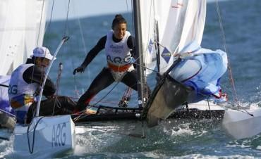 Santiago Lange y Cecilia Carranza 2° Oro para Argentina