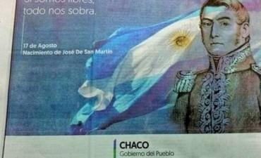 Ignorancia: El Gobierno del Chaco celebró