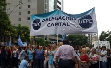 UEPC adhirió al paro nacional del próximo miércoles