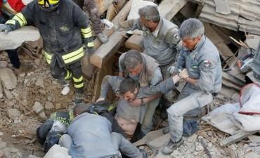 Italia: hay al menos 120 muertos y pueblos enteros en ruinas
