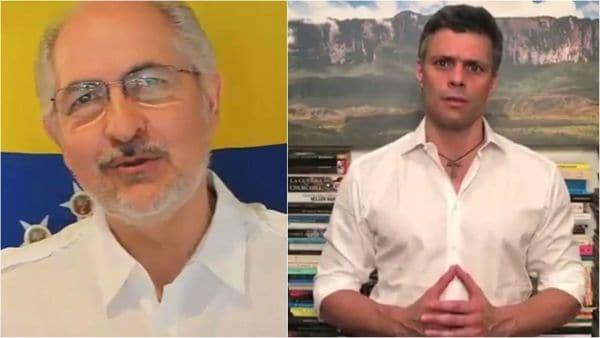 El régimen de Maduro volvió a detener a Leopoldo López y Antonio Ledezma